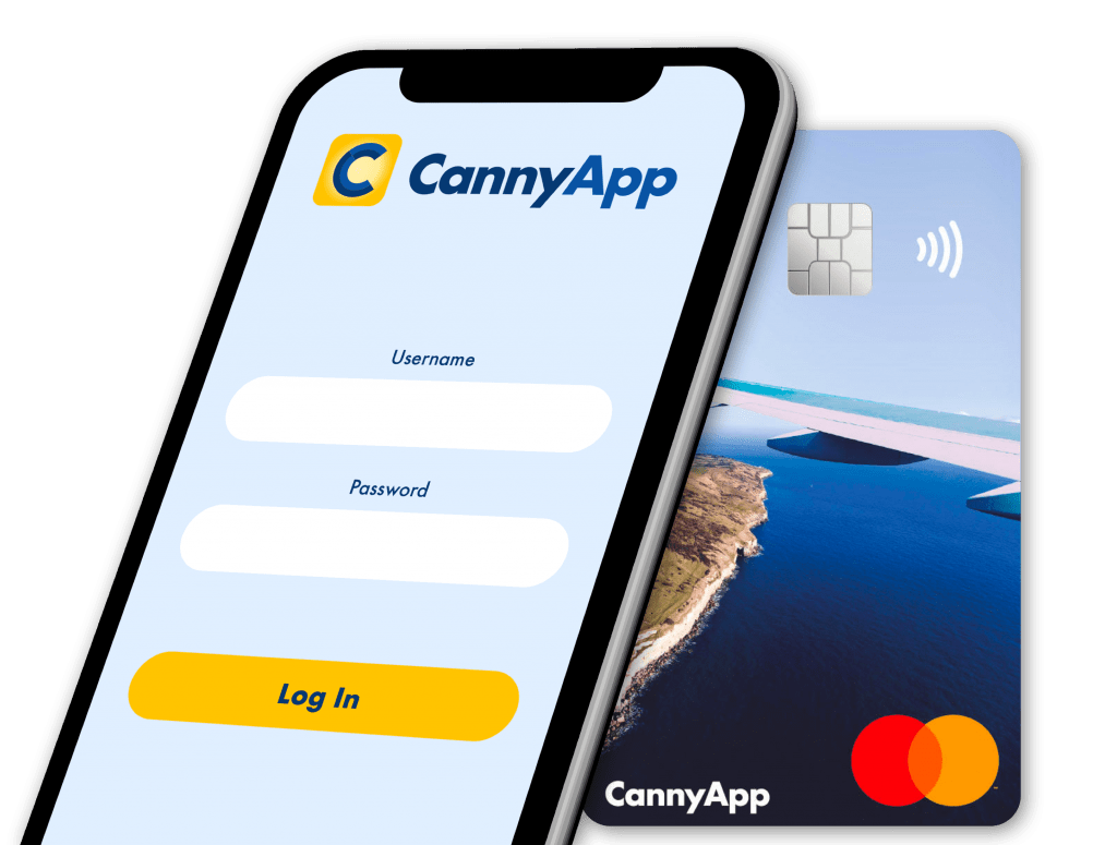 3 % Cashback on your spend with the CannyApp Mastercard